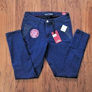 Jeans Womans 22W Royalty For Me Stretchy NWT
